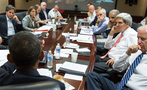 Who Is Allowed In The White House Situation Room